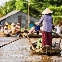Mekong Delta: die Reiskammer Asiens