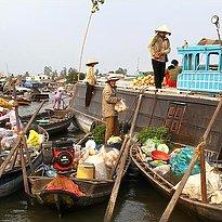 Cai Rang - schwimmender Markt