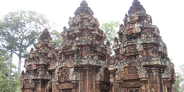 Banteay Srei und Kbal Spean