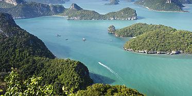 Bootsausflug in den Ang Thong Meeresnationalpark