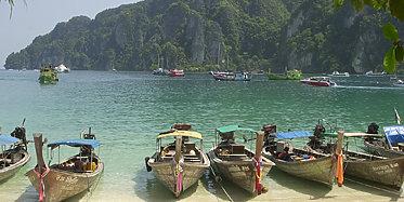 Bootsausflug nach Koh Phi Phi inkl. Mittagessen