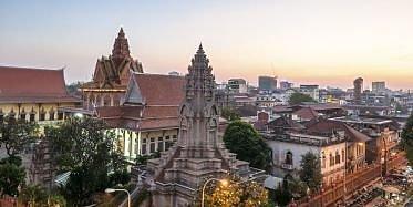 Halbtägige Stadtbesichtigung in Phnom Penh