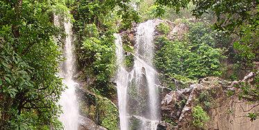 Pa La U Wasserfall und Elefantenritt
