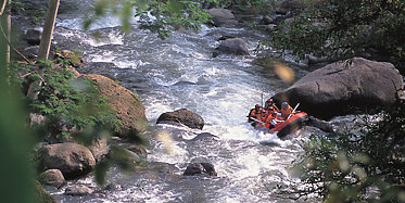 Rafting auf dem Ayung River