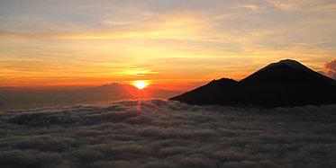 Trekking zum Sonnenaufgang am Mt. Batur