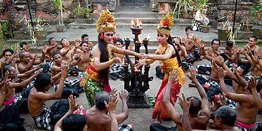 Uluwatu Tempel, Kecak Dance & Abendessen