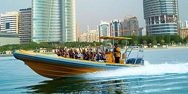 Yellow Boats Tour inklusive Lulu Island