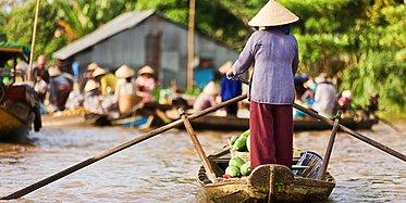 Abenteuer Mekong: Von Saigon nach Phnom Penh