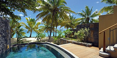 Beach Front Senior Suite mit Pool -Trou aux Biches Beachcomber Golf Resort & Spa
