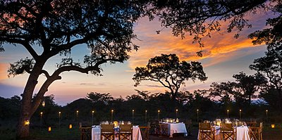 Bush Dinner - Ulusaba Private Game Reserve