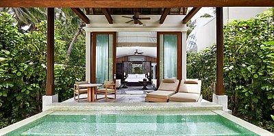 Deluxe Beach Villa (neues Design) - Conrad Maldives Rangali Island