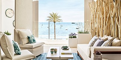 Deluxe Suite Sea View - Nobu Hotel Ibiza Bay