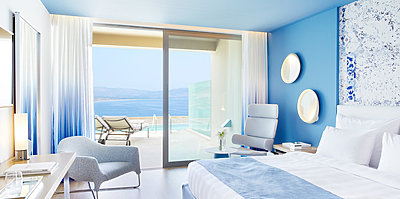Double Room Sharing Pool - Lindos Blu Luxury Hotel & Suites