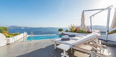 Grand Suite Terrasse - Santorini Secret Suites & Spa
