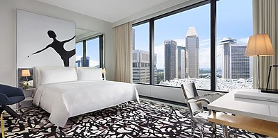 Premier Room - JW Marriott Hotel Singapore South Beach