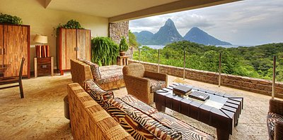 Sky Jacuzzi Suite - Jade Mountain