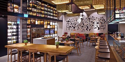Salero Tapas & Bodega - Kempinski Hotel Mall of the Emirates