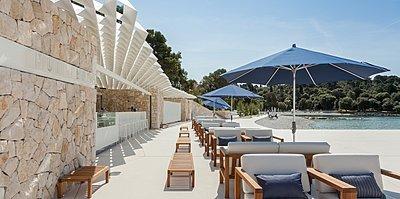 Hotel Monte Mulini - Strand Bar