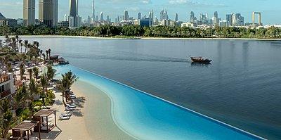 Lagunenpool des Park Hyatt Dubai
