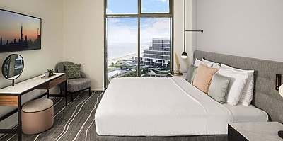 One Bedroom Suite Schlafbereich