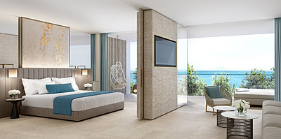 One Bedroom Suite Sea View - Ikos Andalusia