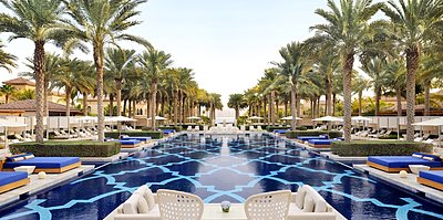 Hauptpool des One&Only The Palm
