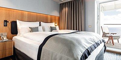 Panorama Suite Schlafzimmer - Mein Schiff 2