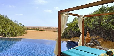 Privatpool Emirates Suite - Al Maha Desert Resort & Spa