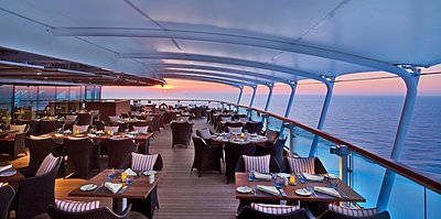Seabourn Ovation - The Colonnade