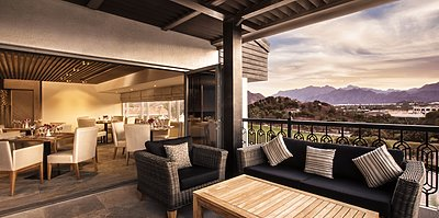 Sunset Terrace - A Hatta Fort Hotel