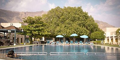 Swimmingpool - Golden Tulip Nizwa