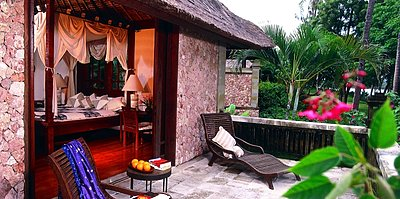 The Oberoi Lombok - Luxury Pavilion - Terrasse