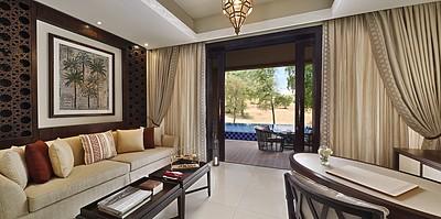 Wohnbereich Al Rimal Deluxe Pool Villa