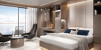 The Terrace Suite - The Ritz-Carlton Yacht Collection