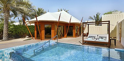 Villa, privater Pool und Sonnendeck - The Ritz-Carlton, Al Hamra Beach