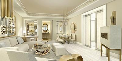Wohnzimmer Executive Suite - Jumeirah Royal Saray, Bahrain