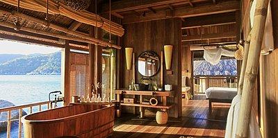 Six Senses Ninh Van Bay - Water Pool Villa Badezimmer