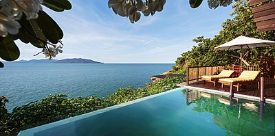 Six Senses Samui - Ocean Front Pool Villa Suite