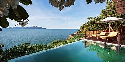 Ocean Front Pool Villa Suite - Six Senses Samui