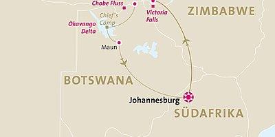 Zambia, Namibia & Botswana