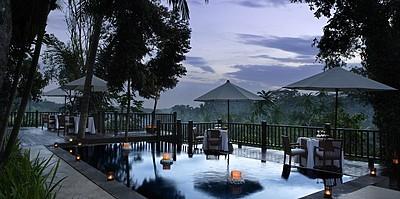Kayumanis Ubud - Pool & Dining Corner Restaurant
