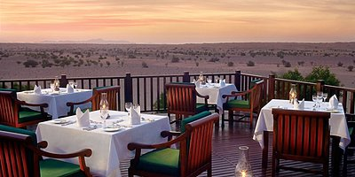 Al Diwaan Terrasse - Al Maha Desert Resort & Spa