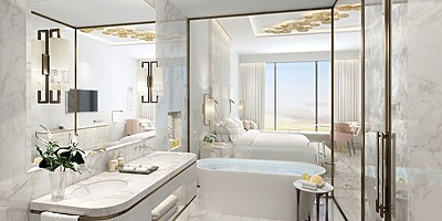 Badezimmer - The St. Regis Dubai, The Palm