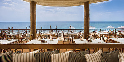 Barbouni Restaurant - The Romanos, a Luxury Collection Resort