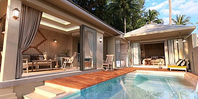 Beach Pool Villa - Devasom Khao Lak Beach Resort & Villas