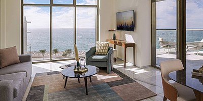 Family Two Bedroom Suite Palm Sea View