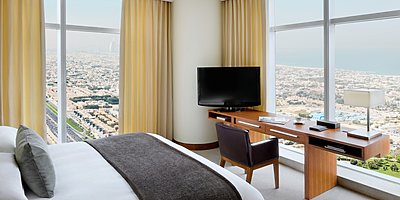 Corner-/Executive Suite - JW Marriott Marquis Dubai (Wohnbeispiel)