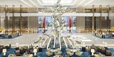 Lobby - The Royal Atlantis Resort