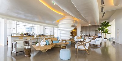 Lobby des Nikki Beach Resort & Spa Dubai