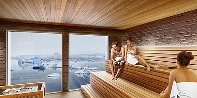 OCEAN Spa Sauna -HANSEATIC inspiration